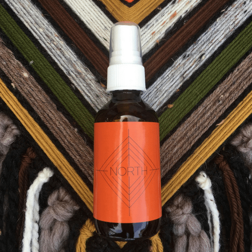 North • Spirit Mist All over face, body + linen spray by Godseye Oils, Natalie Rose Silva Chaput